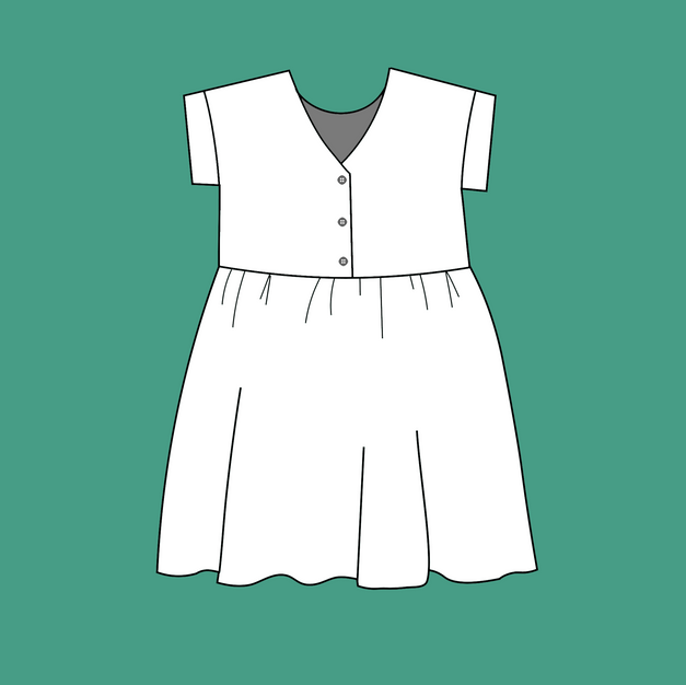 Mini smock dress - £65