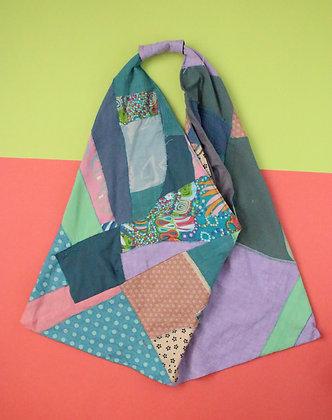 Patchy Scrap Bento Bag