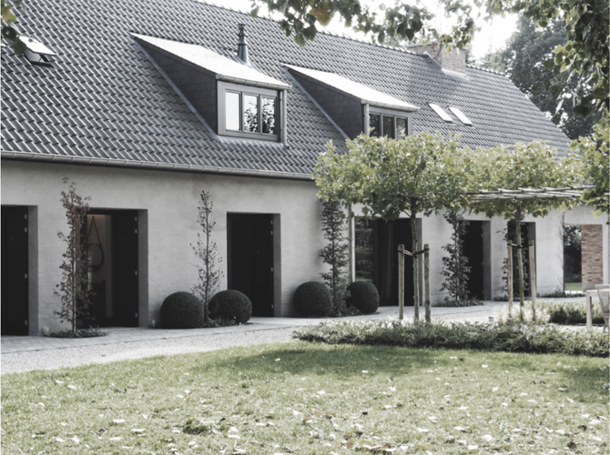Farmhouse Renovation by vlj-architecten i.c.w. Langendries & Nivelle Interior Designers