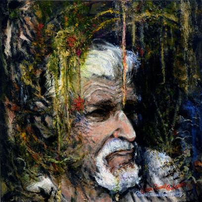 Self Portrait, 24x24, Oil on wood.jpg