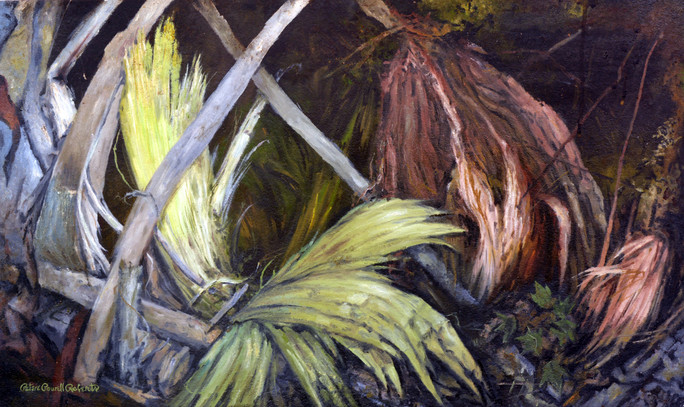 Time and Texture ,24x48, Oil on wood.jpg