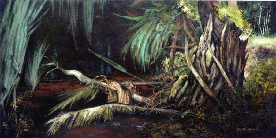 A Harmony of Spirit,  24 x48, Oil on wood