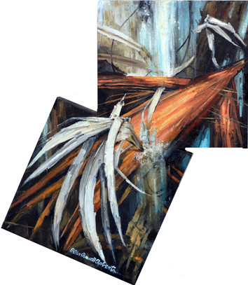 Flow of Life, 54x40, Oil on wood.jpg