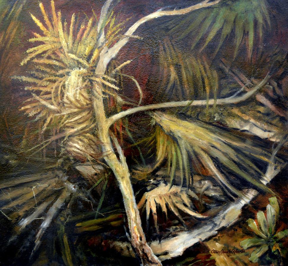 Time of Renewal , 28x30, Oil on wood.jpg