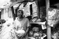 Street Produce Seller