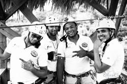 Zip Line Workers