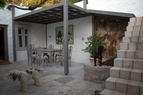 artist showroom, Hydra, Greece