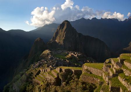 Macchu Picchu at the golden hour