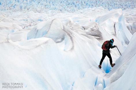 Trekking on the Perito Moreno, Patagonia