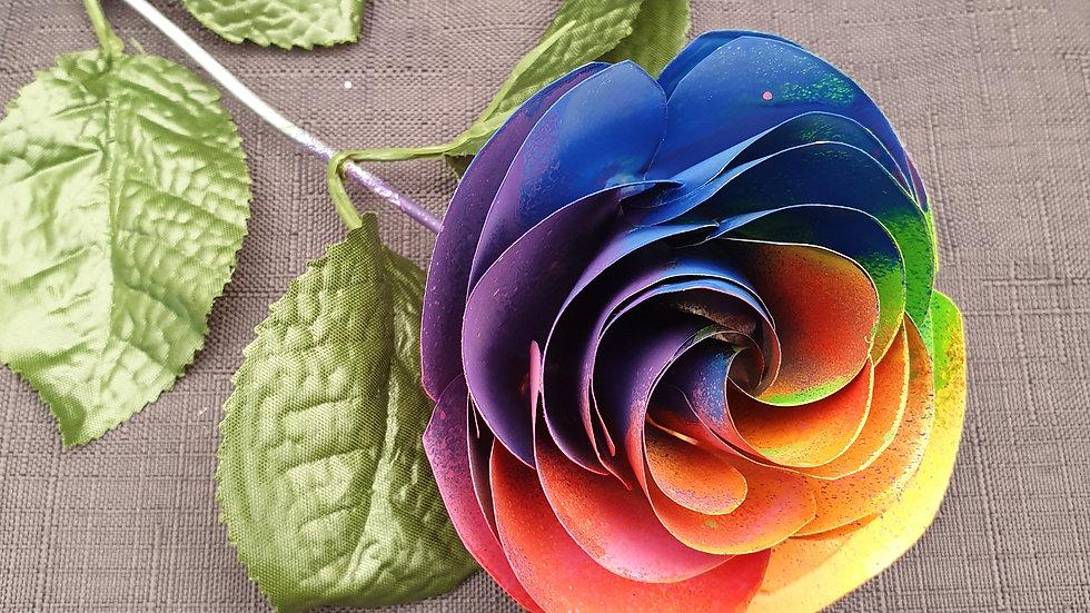 FB 901RB Individual Rainbow Roses