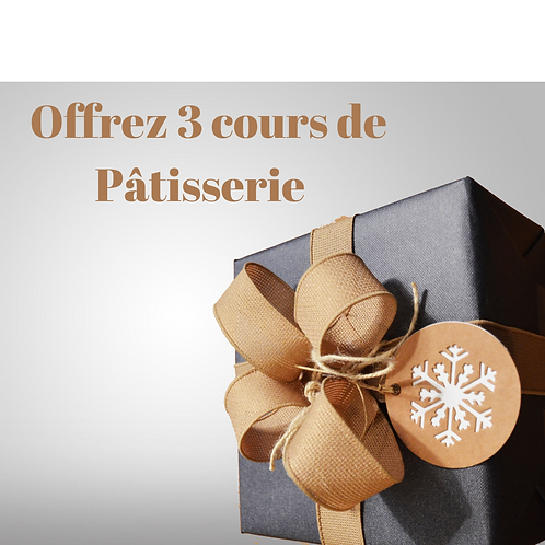 Cadeau 3 Cours de pâtisserie