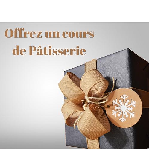 Cadeau Cours de pâtisserie