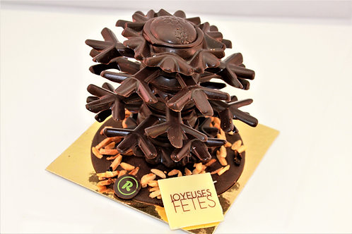 Flocon chocolat noir