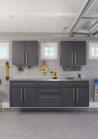 Granite Workbench Stainless Steel Counte