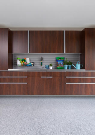 Coco Cabinets Stainless Workbench Gray S