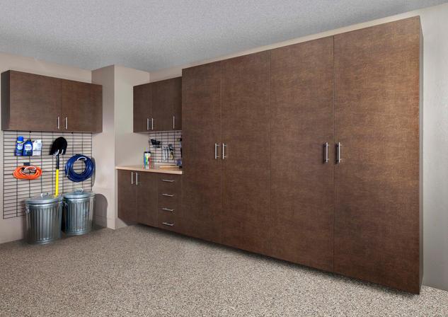 Bronze Cabinets Butcher Block Counter Gr