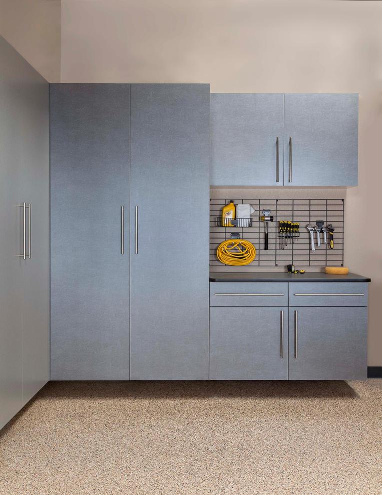 Pewter Cabinets Ebony Workbench Gridwall