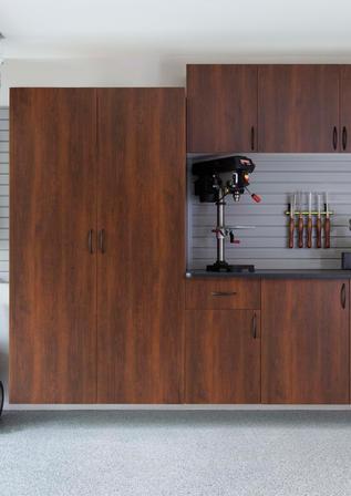 Coco Cabinets Ebony Star Counter Gray Sl