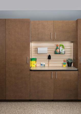 Bronze Cabinet Milano Quartz Counter Wid