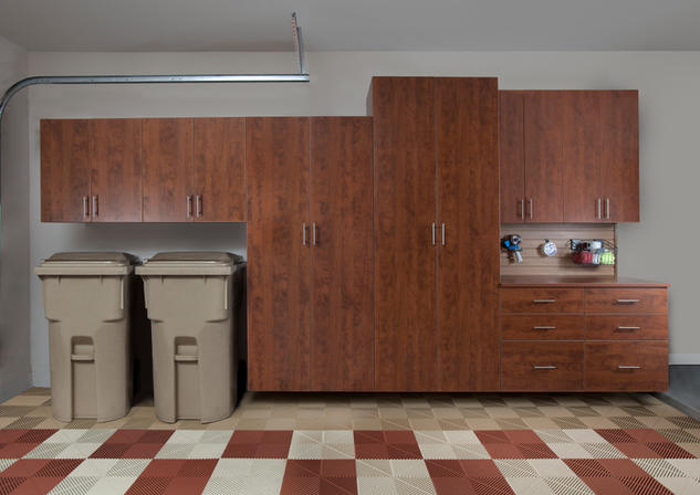 Coco Cabinets with Workbench Swiss Trax