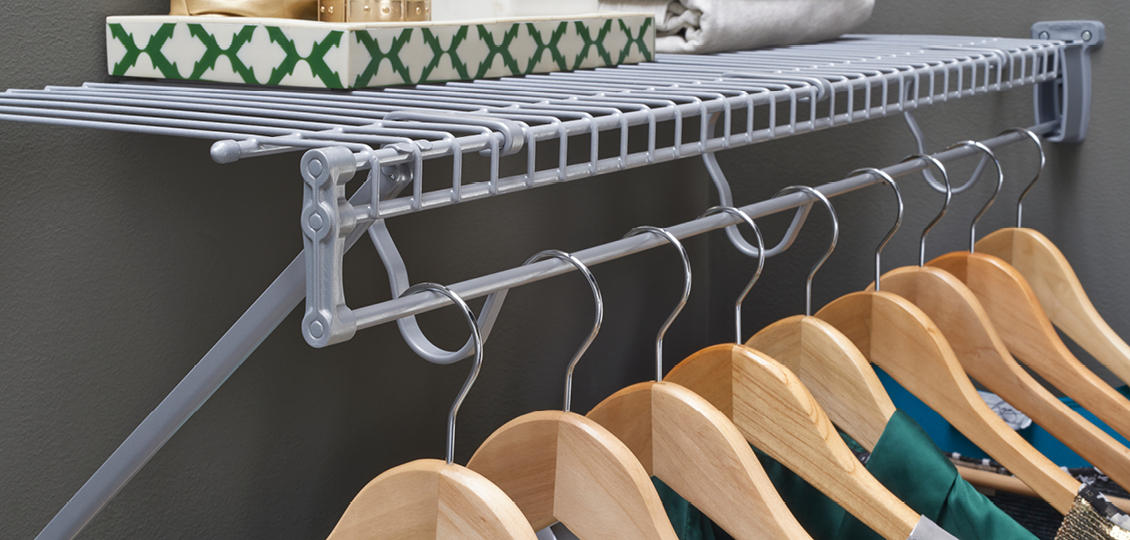 Fixed Mount Ventilated Wire Shelving