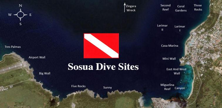 Dive site, Sosua , Dive Cabarete, snorkelling
