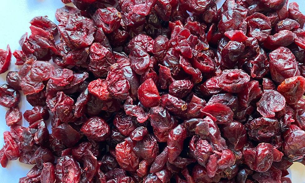 Cranberry rossi disidratati