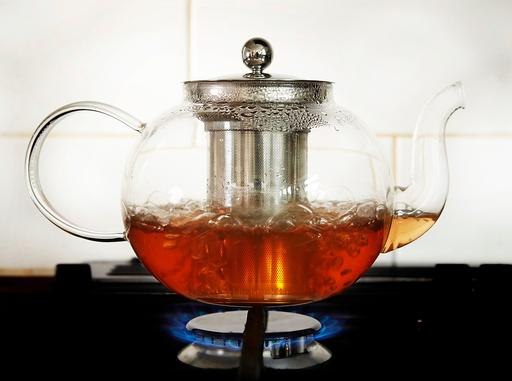 Tea Kettle Infuser Stovetop