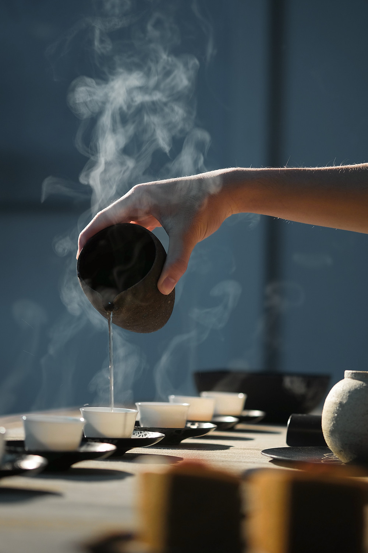 Preparing Herbal Tea