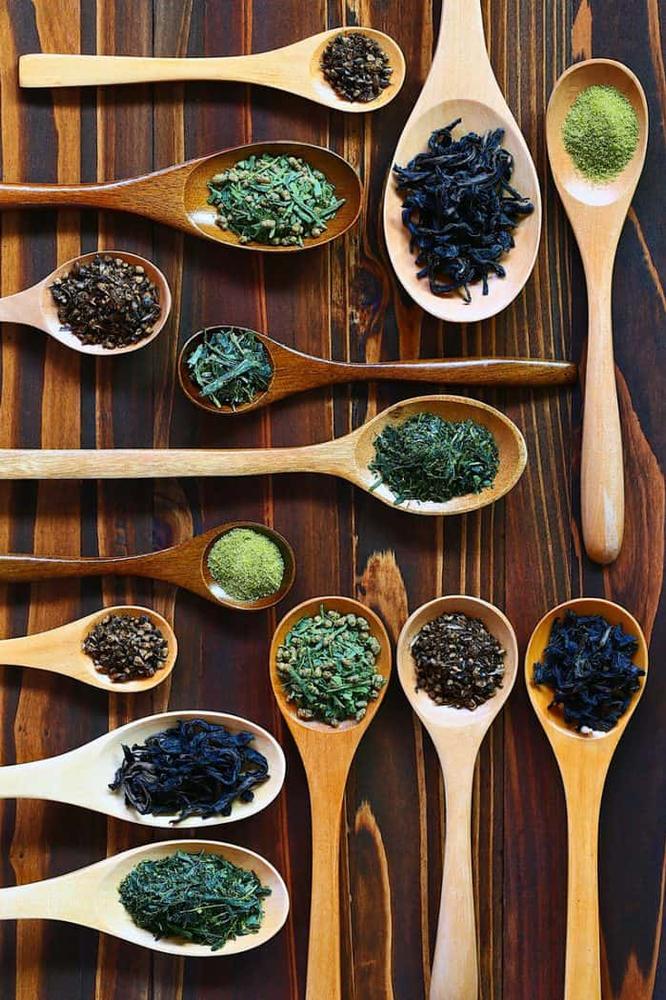 tea leaves blend