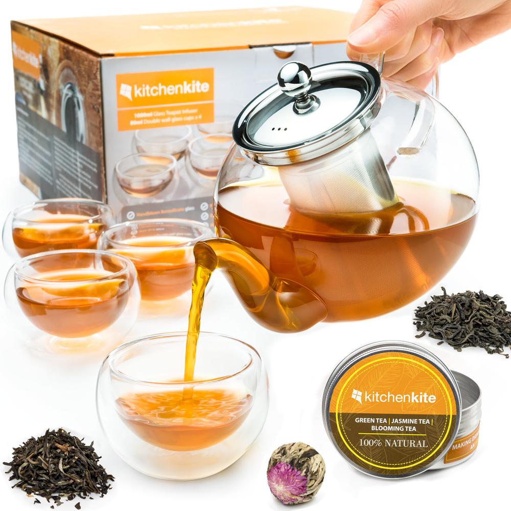 Kitchen Kite Teapot Set