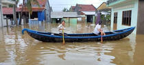 Flooding in Phu Yen, 2020.