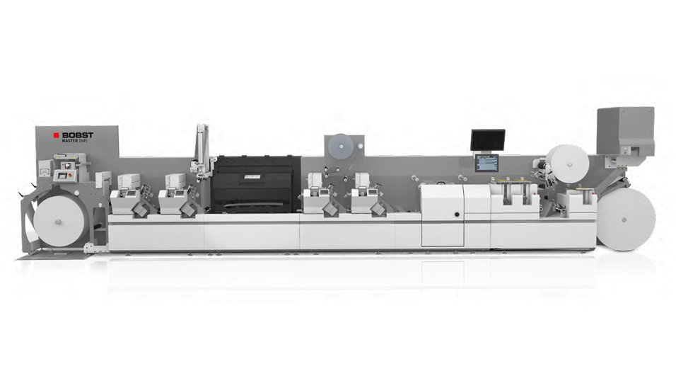 BOBST MASTER DM5 Hibrit Dijital Flekso Baskı Makinesi