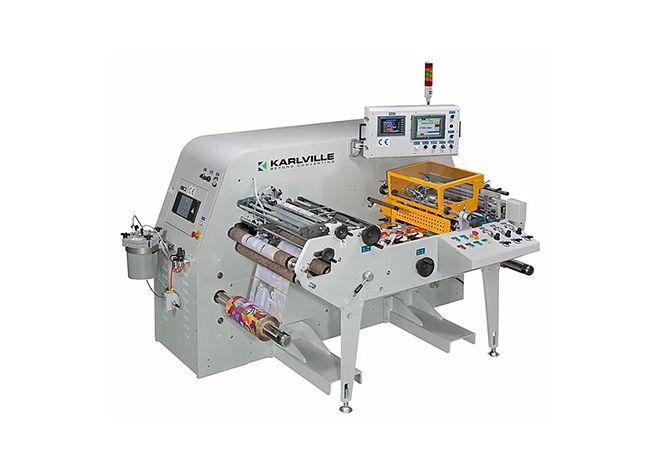 Karlville Etiket Ambalaj Sonlandırma ve Kalite Kontrol Makineleri