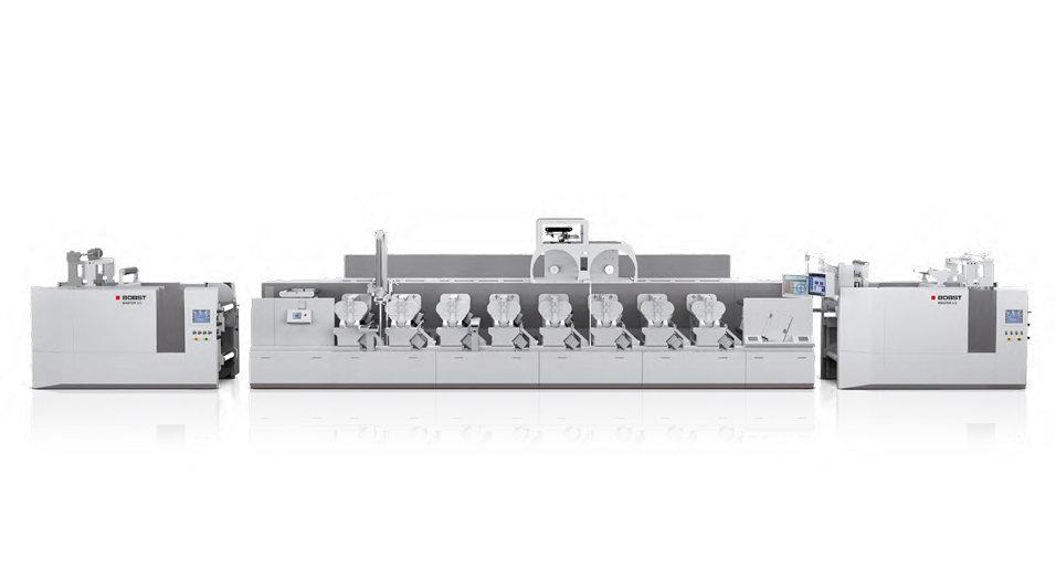 BOBST MASTER M6 Flekso Baskı Makinesi