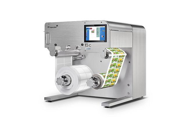 Trojanlabel Dijital Rulo Etiket Ambalaj Karton Metalize Film PP Baskı Makinesi