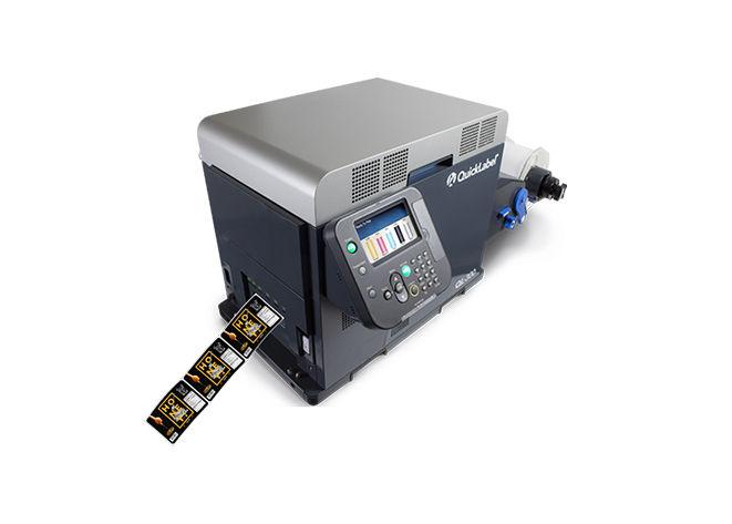 QuickLabel Dijital Rulo Etiket Ambalaj Karton Metalize Film PP Baskı Makinesi