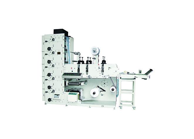 Weigang Flekso Rulo Etiket Ambalaj Karton Metalize Film PP Soğuk Yaldız Baskı Makinesi