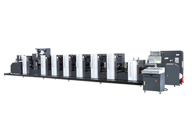 Wanjie UV Ofset Rulo Etiket Baskı Makineleri