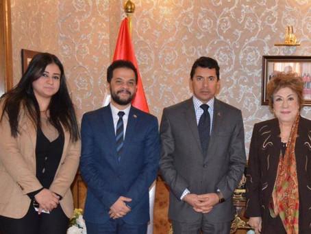 وزير الشباب يدعم مهرجان شرم الشيخ الدولي للمسرح الشبابي بجائزة مالية تحمل اسم سميحة أيوب