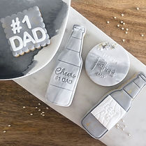 """Father's Day """"Beers & Cheers"""" Cookies"""