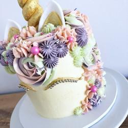 Custom unicorn cake