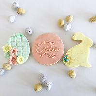 Blushing Cotton Tails Cookie Box
