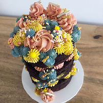 Mini celebration cake