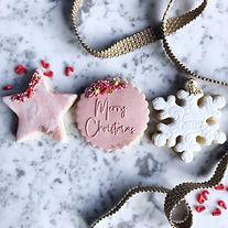 Snowflake Cookie Box