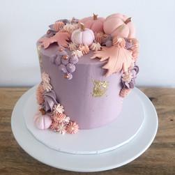 Custom halloween and Canadian themed 18th cake