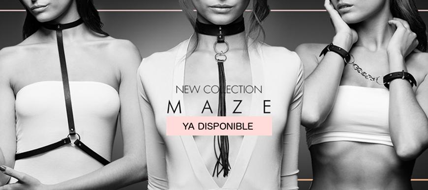 Colección MAZE de Bijoux