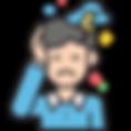 icono-color-hombre-angustiado-rayo-en-la-cabeza