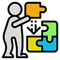 icono-color-hombre-ensamblando-piezas-puzle