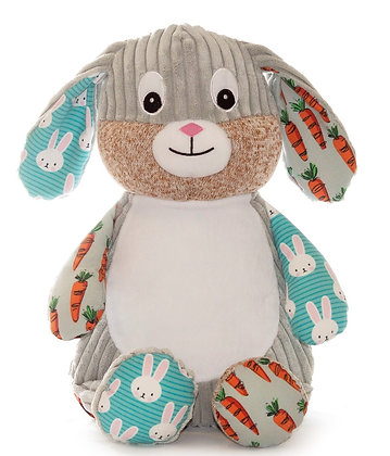 Special Edition'Munch'  Harlequin Bunny Floral